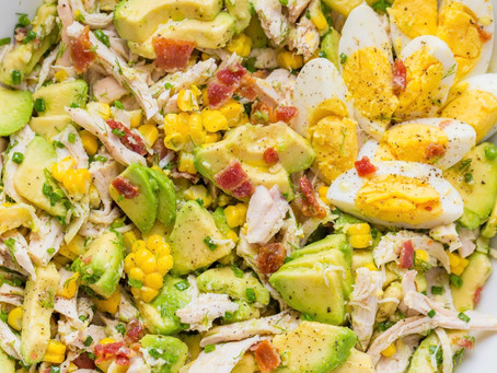 Easy Chicken Avocado Salad