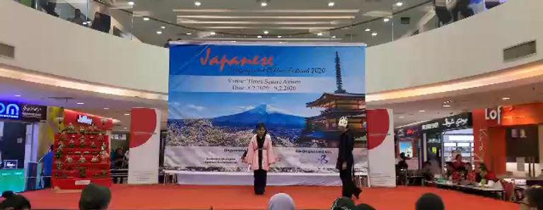 PMUBD | Japanese language culture week (Senbonzakura dance)