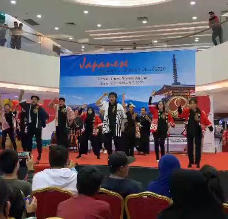 PMUBD | Japanese language culture week (Soranbushi dance with Yamanaka traditional band)