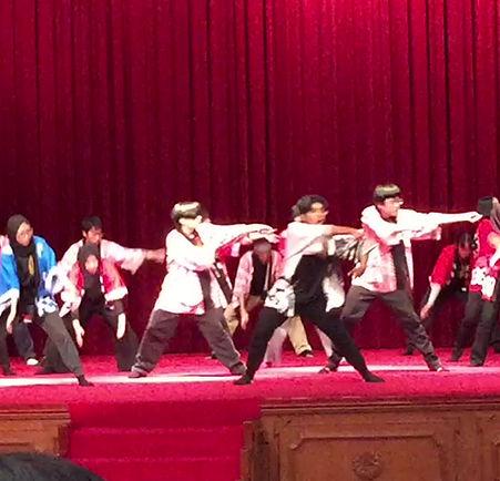 PMUBD | Emperor reception (Soranbushi dance)