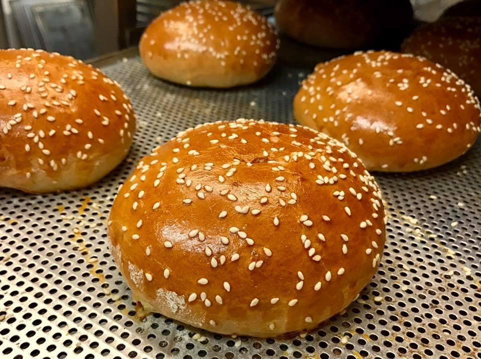 Burger Uns von der Bäckerei Berger