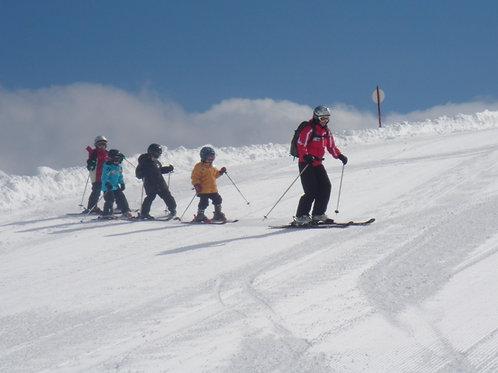 Ich lerne Skifahren!