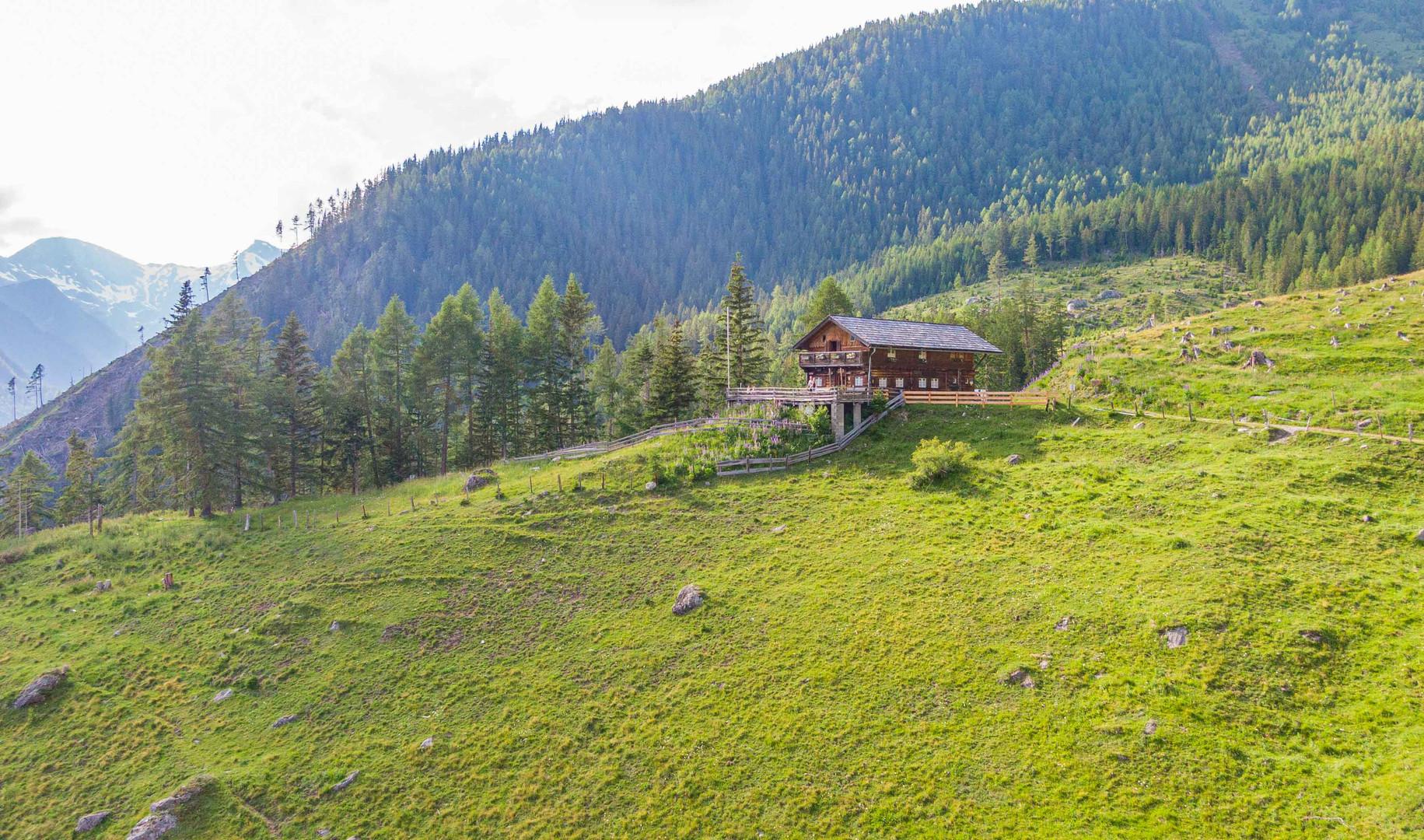 Wolligger Hütte 1.600m
