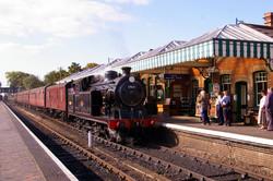 North Norfolk Railway at Sherringham