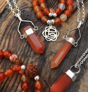 Sacral Chakra Jewellery: Carnelian