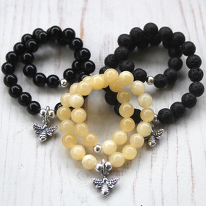 Manchester Bee Bracelets