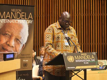 COMMEMORATION DE LA JOURNEE INTERNATIONALE NELSON MANDELA