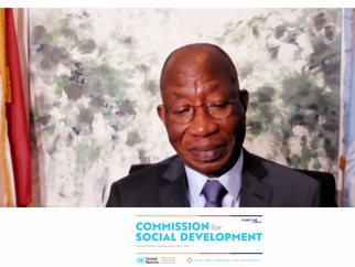 FIFTY-NINTH SESSION OF THE COMMISSION FOR SOCIAL DEVELOPMENT