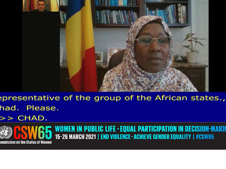 AFRICAN GROUP STATEMENT AT THE CSW65