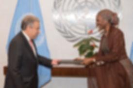 Amb Mohammed presents credentials.jpg