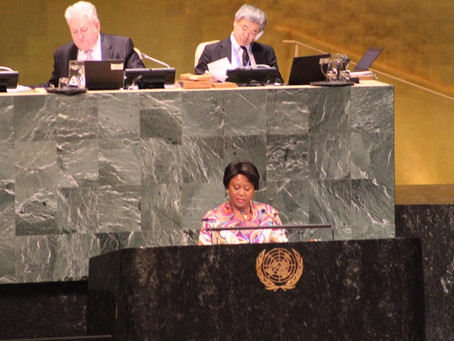 GENERAL ASSEMBLY DEBATE ON THE DEVELOPMENT OF AFRICA: STATEMENT BY H.E. MARTHA A. A. POBEE