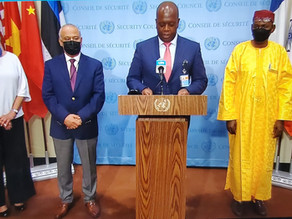 A3+1 PRESS STAKEOUT ON PEACE AND SECURITY IN AFRICA
