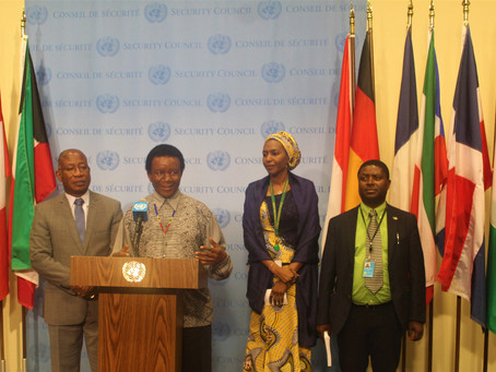 A3 Media Stakeout on the situation in Sudan