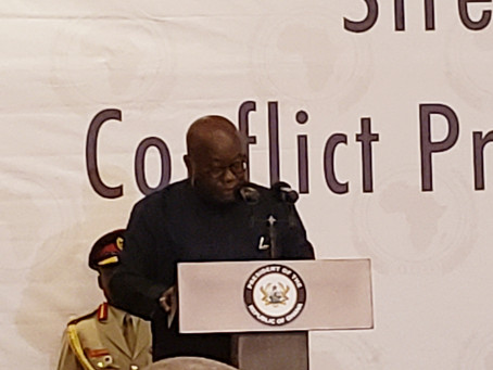 ADDRESS BY THE PRESIDENT OF THE REPUBLIC OF GHANA,H.E. Mr. NANA ADDO DANKWA AKUFO-ADDO