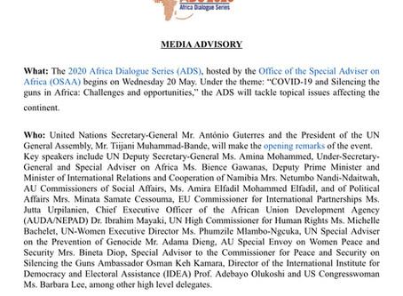 AFRICA DIALOGUE SERIES 2020