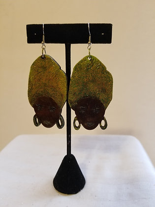 Hijab Earrings (Facing Forward)