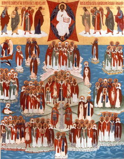 All the Saints of British Isles and Ireland East Orth Church St Seraphim Church little Walsingham No