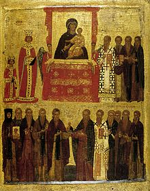 Empress Theodora in 843 Triumph orthodoxy