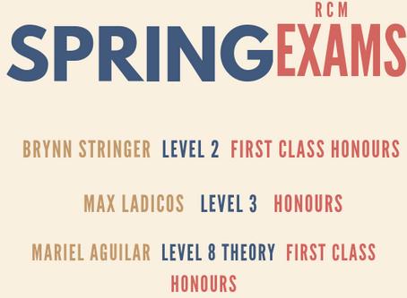 April 2019 RCM Exam Results