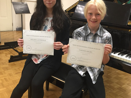 Outstanding Junior and Senior Student Awards