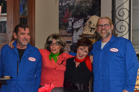 Bruce, Tracy, Jan and Alex as Lavern & Shirley group.jpg