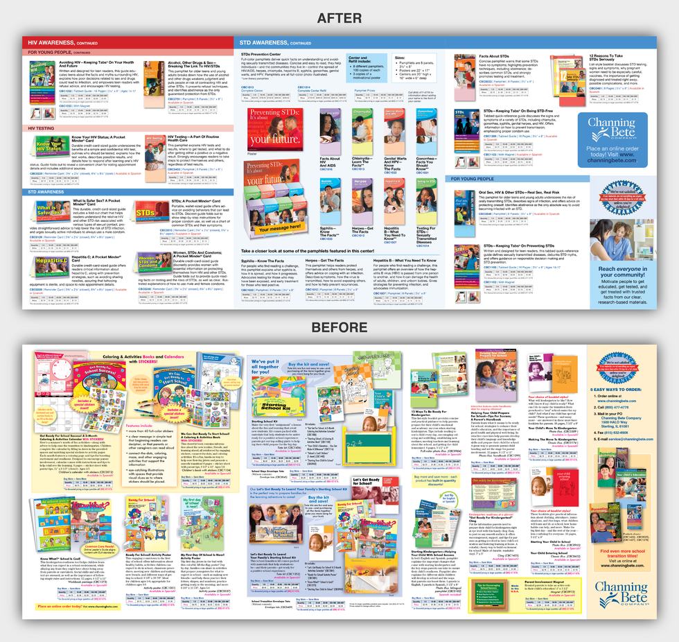 CBC Print Promotion Mailer Designs