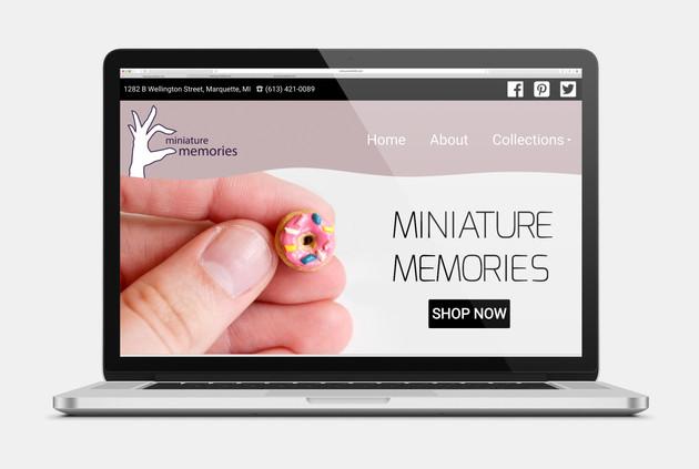 Miniature Memories Website