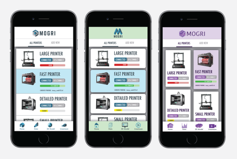 Mogri Mobile App Design