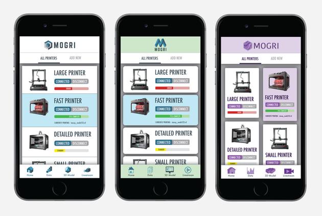 Mogri Mobile App Design