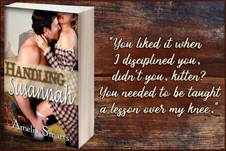 Handling Susannah by Amelia Smarts