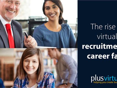The rise in virtual recruitment & career fairs