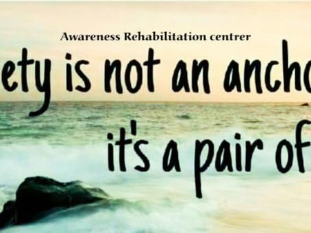 Every flower must grow through dirt. Awareness Rehabilitation Centre