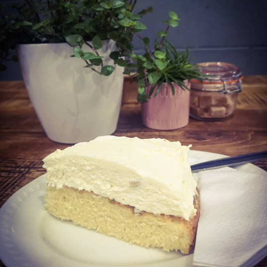 Cacen Lemon/Lemon Cheesecake