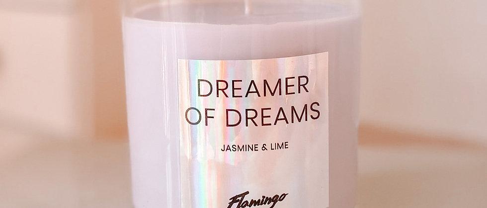 Dreamer of Dreams Candle Jar - Jasmine + Lime