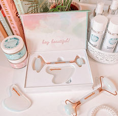 Beauty Roller Facial Skincare Gua Sha Fl