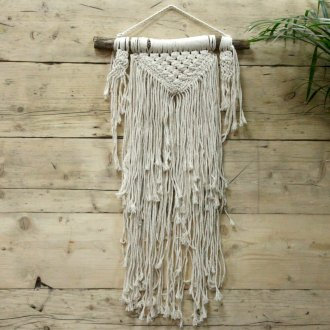Macrame Wall Hanging - Natural Abundance