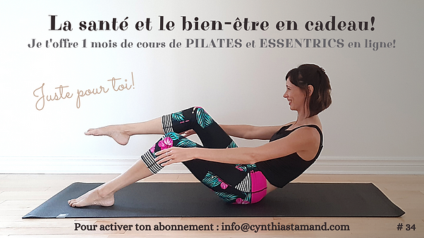 Cours de pilates en ligne. Cours d'essentrics en ligne. Pilates à la maison. Pilates. Essentrics. Exercice pour les abdominaux.
