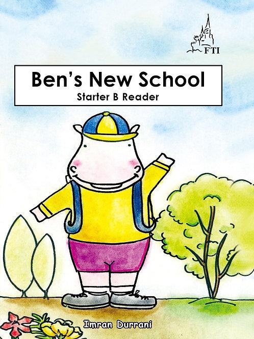 Starter B Reading Book Ben's New School