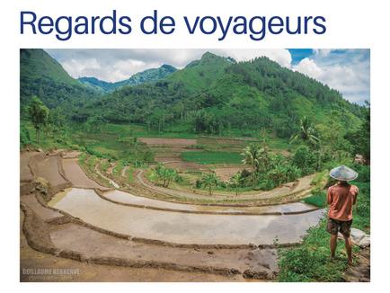 """Expo photo """"Portraits d'Indonésie"""" au festival Regards de Voyageurs à Grand-Champ."""