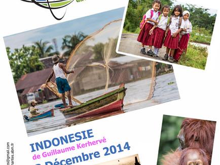 Projection vidéo du voyage en Indonésie