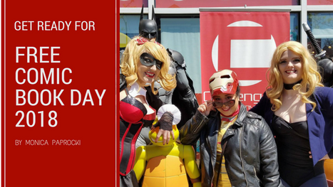 Celebrate Free Comic Book Day in the Chicago-land area on May 5th!