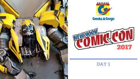 New York Comic Con 2017 Day 1