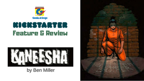 Kaneesha: A Graphic Novel by Ben Miller