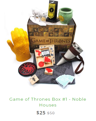 Game of Thrones Box Discount 2019