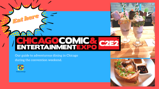 Where to eat in chicago during c2e2