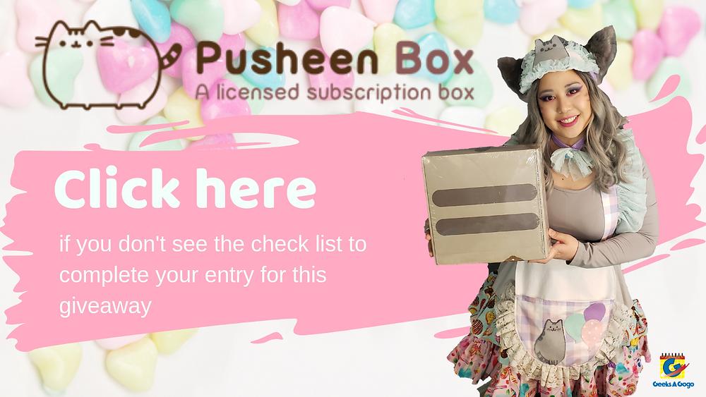 Pusheen box giveaway