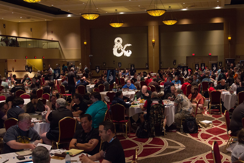 Dungeons and Dragons at Origins 2018