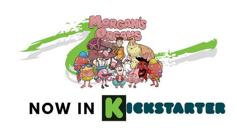 Morgan's Organs Book 3 - Now in Kickstarter