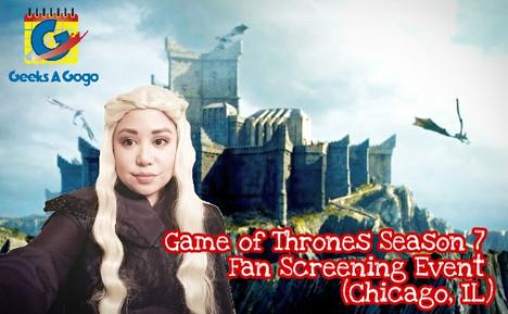 Game of Thrones' Season 7 Fan Screening Event - Chicago
