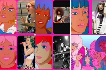 If Jem and the Holograms was Cast with Real Female Musicians Who Kick Ass